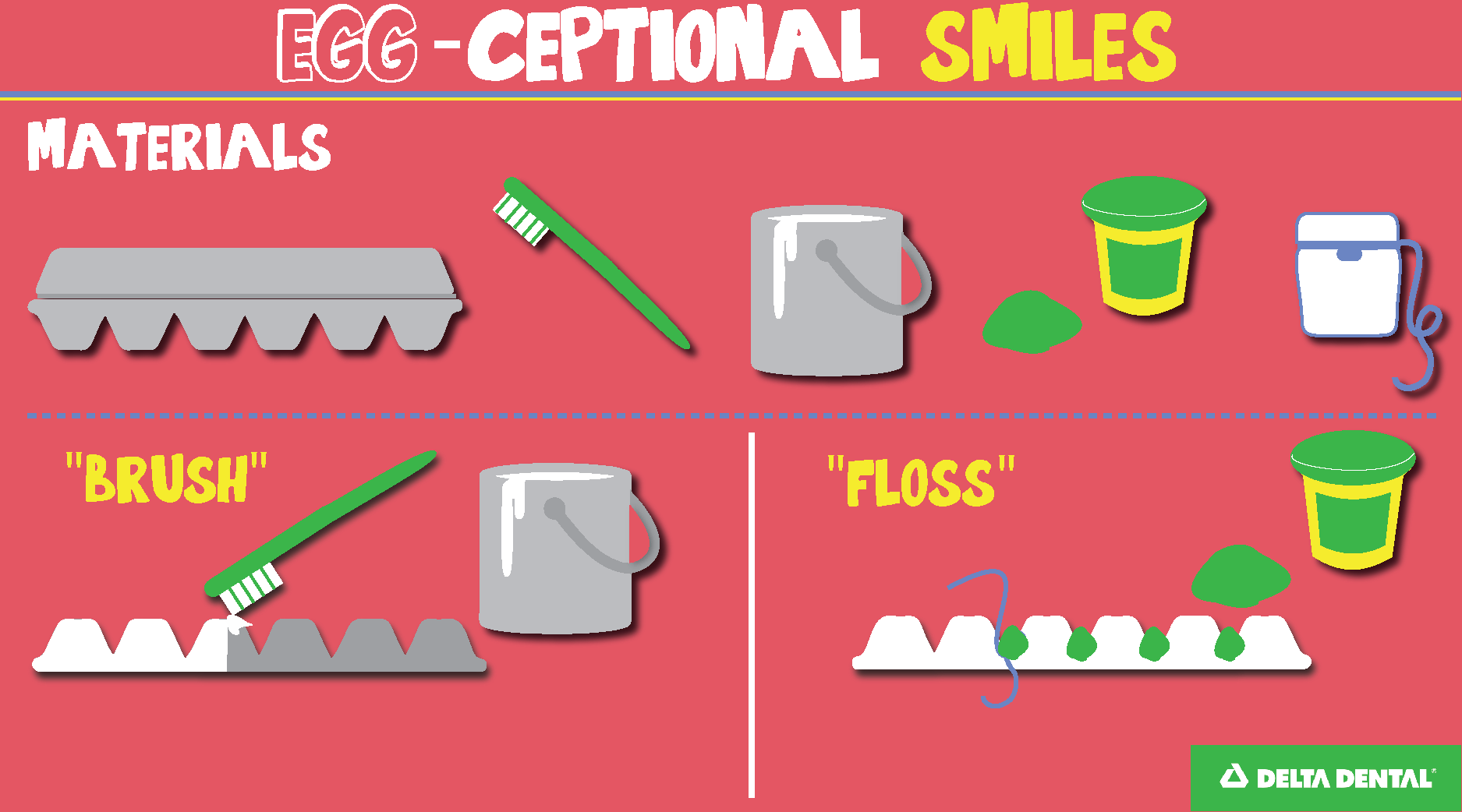 Creative Activities For Children S Dental Health Month