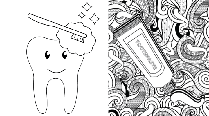 Coloring pages for kids and grownups