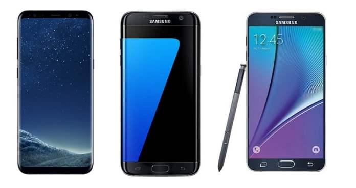 Samsung Galaxy high end phones in Nepal