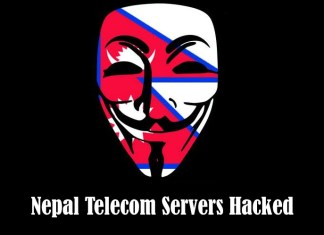 Nepal Telecom servers hacked by Anonymous #opnep
