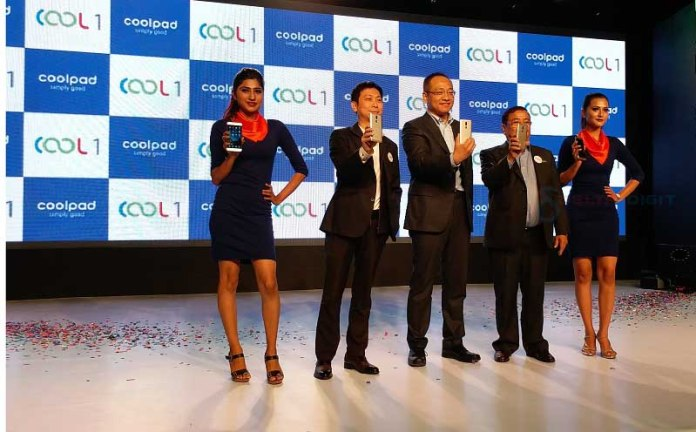 Coolpad launch in Nepal at Hyatt