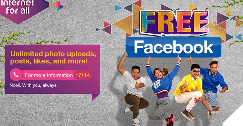 Free Facebook in Nepal by Ncell
