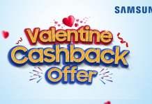 Samsung Nepal Valentine Cashback offer 2019