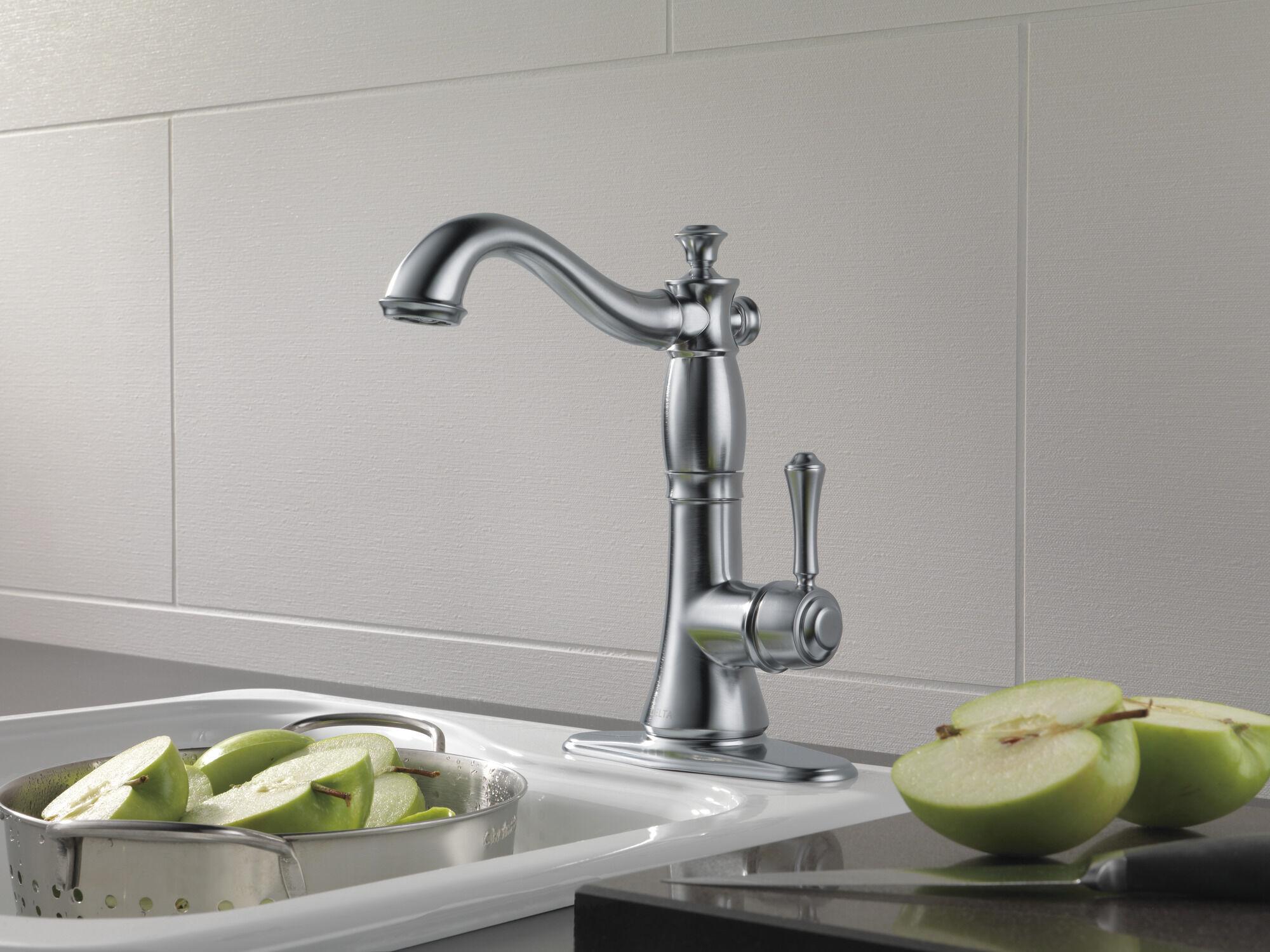 single handle bar prep faucet