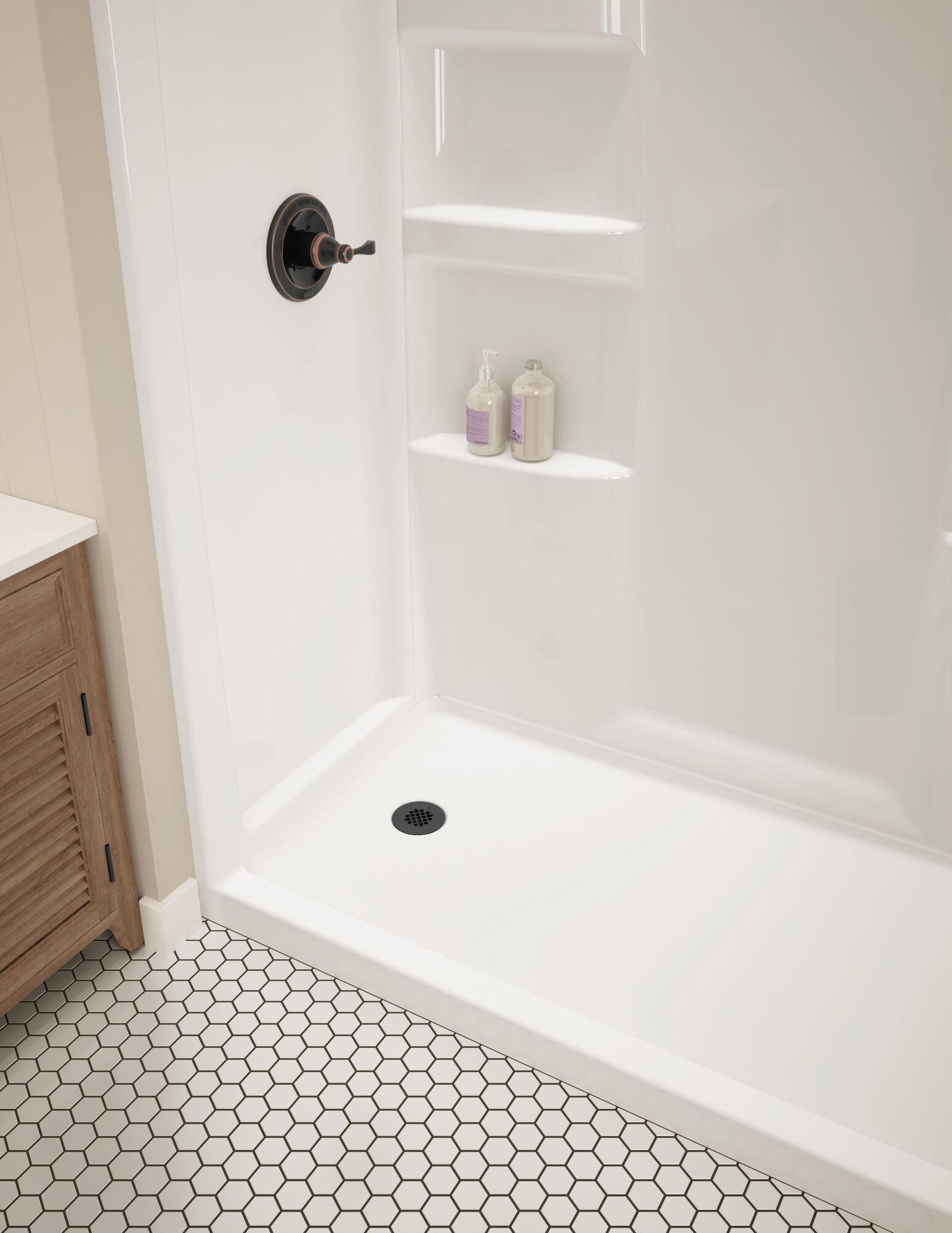 procrylic 60 in x 30 in shower surround