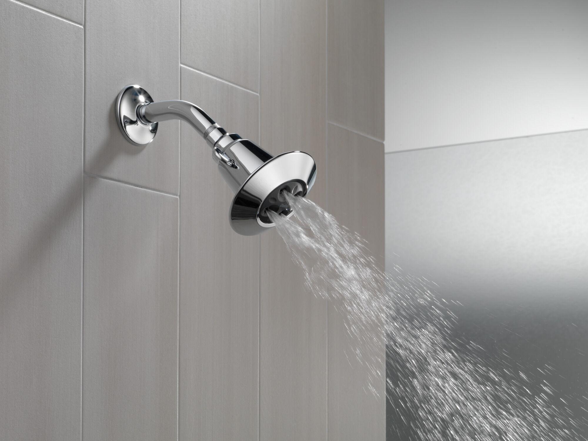 water amplifying adjustable shower head