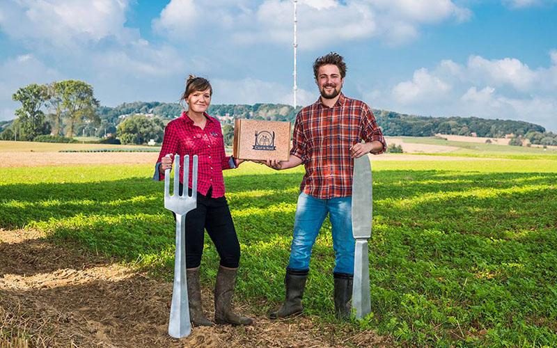 Louise et Antoine ont crée une box 100% nordiste : C'est le Nord Box