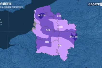 prévisions Agate France