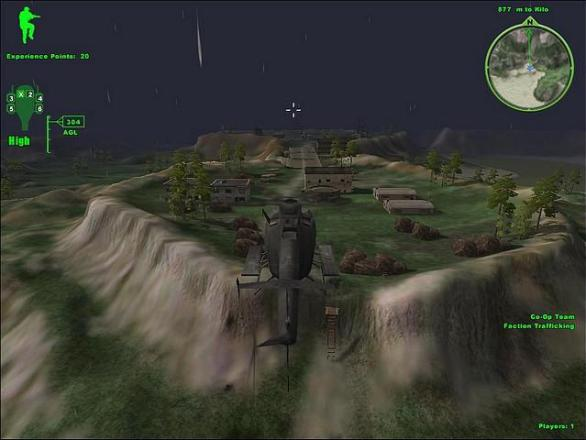 Map of Delta Force Xtreme 2