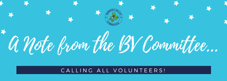 A Note from the BV Committee – WE NEED YOU!