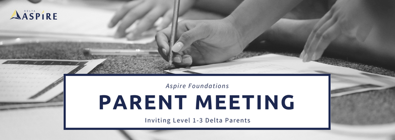 Inviting our Aspire Foundations Parents