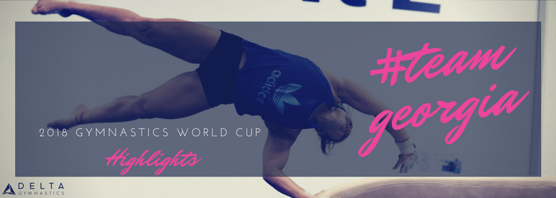 Georgia Takes On Gymnastics World Cup