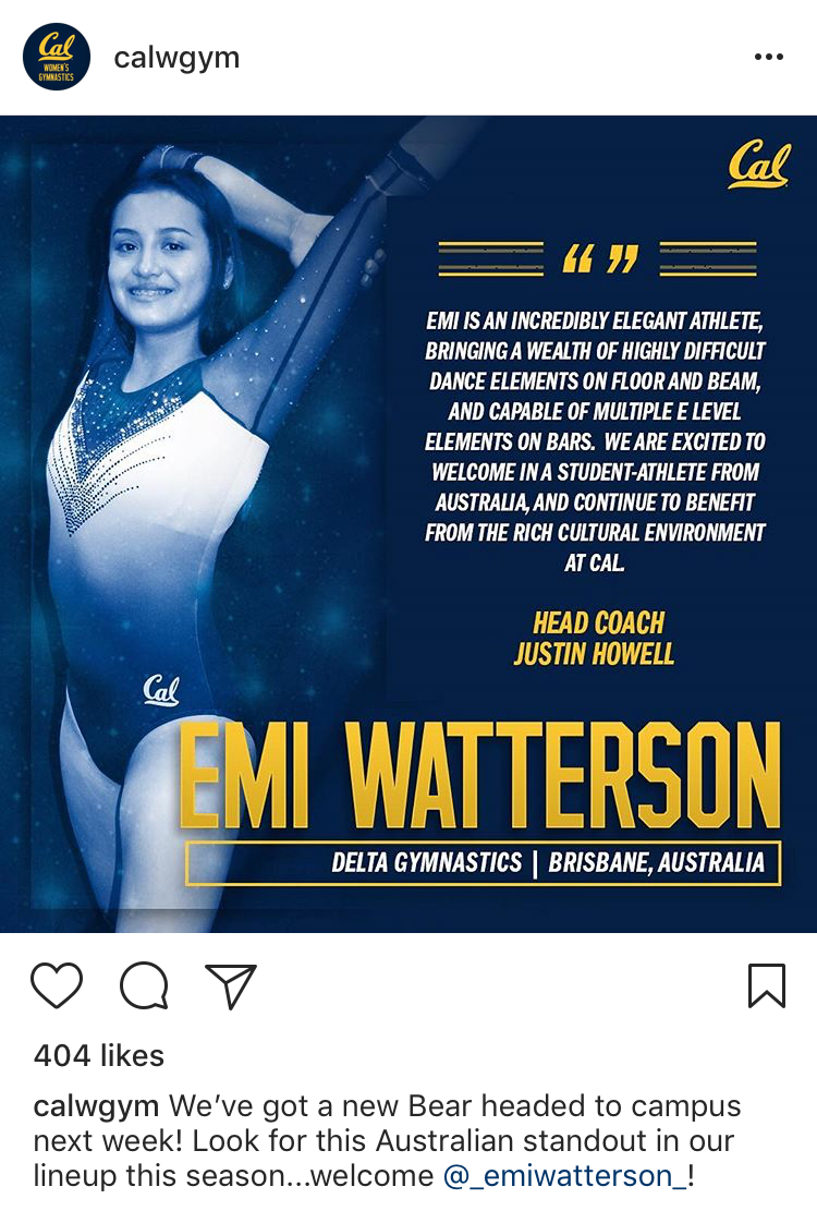 Emi Watterson Gymnast - Little girls with dreams become
