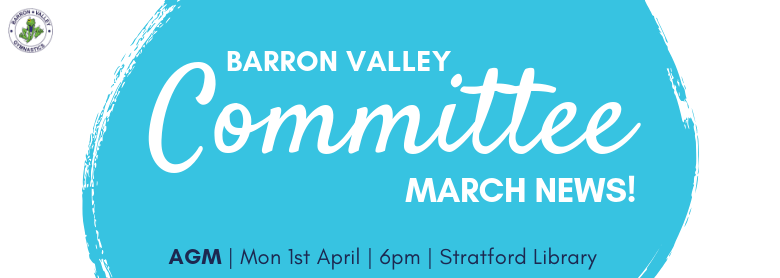 Barron Valley Gymnastics Committee News & AGM Notice