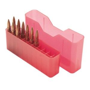 MTM 20 Round Slip-Top Rifle Ammo Box
