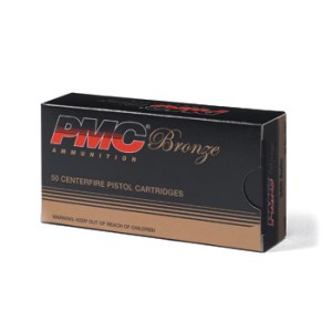 PMC Bronze 38 Special 158gr LRN – 50 Rounds