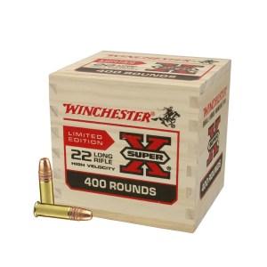 Winchester SuperX .22LR 36gr HP 1280fps 400pk