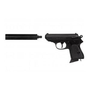 DENIX Walther PPK with Suppressor Replica