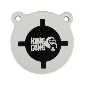 King Gong AR500 Steel Gong Target – 4″
