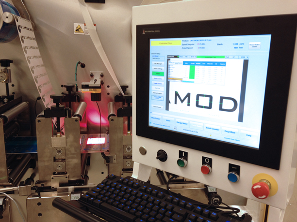 Registration Controlled by the MOD-TRACK™ Vision System