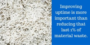 A fixation on reducing scrap could blur the bigger picture.