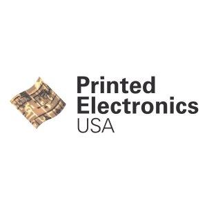 Square Logo for Printed Electronics USA