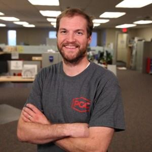 Nathan Holm, Senior Manufacturing Engineer