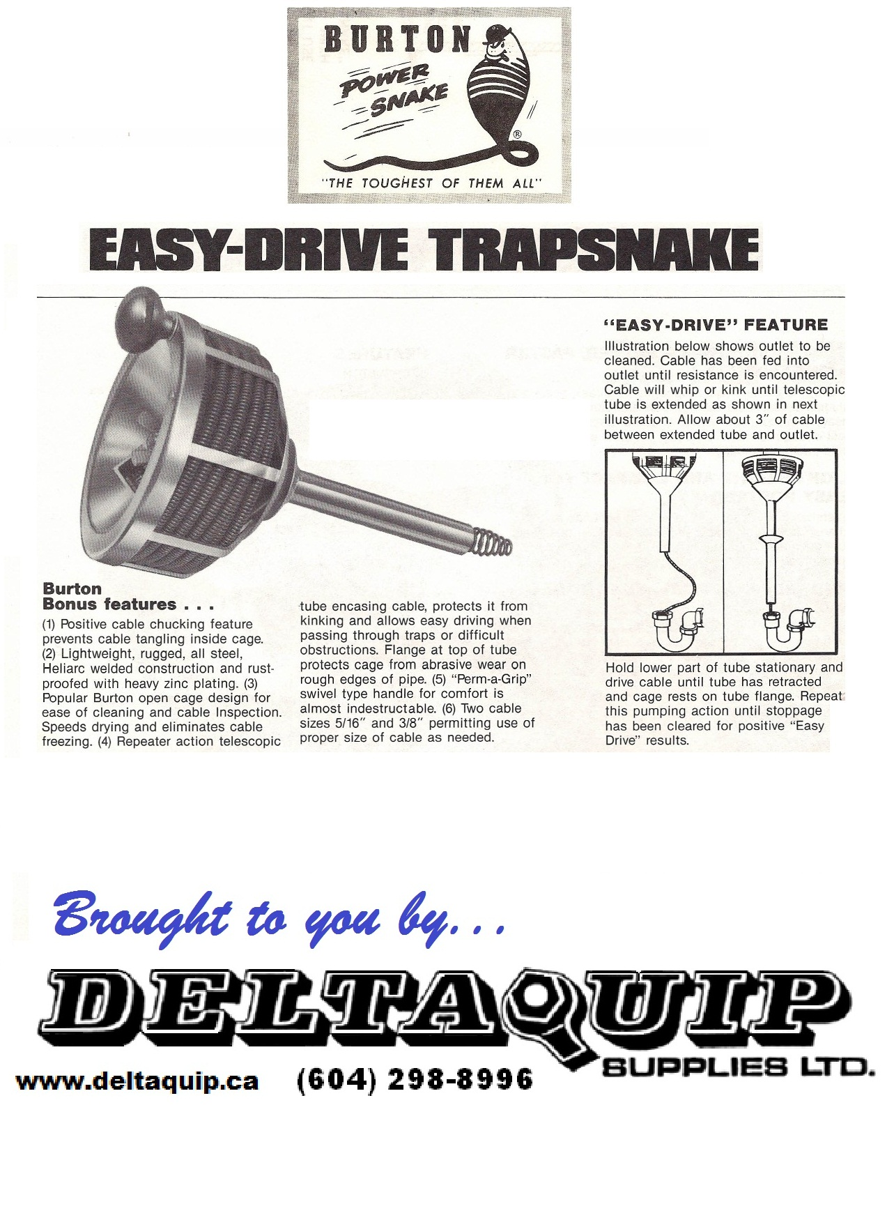 Easy Drive Trapsnake Accessories