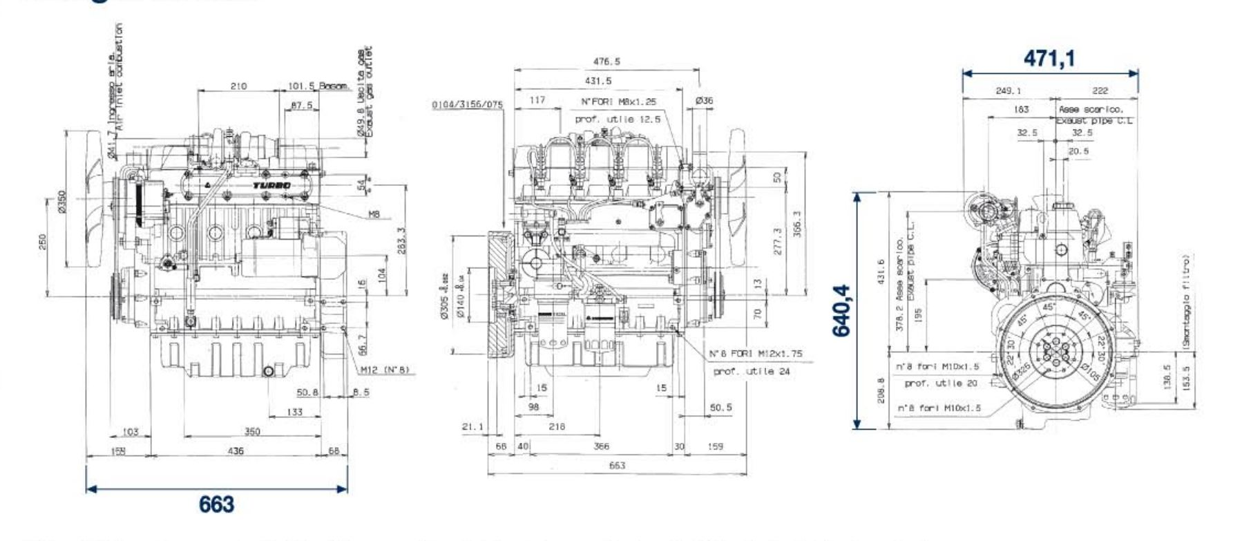 Lombardini Engine Ldw Turbo Chd