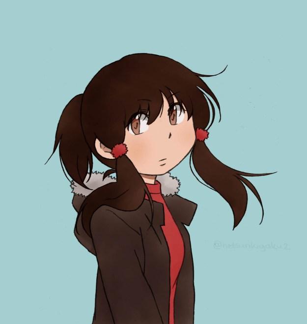 Hiura's middle-school look