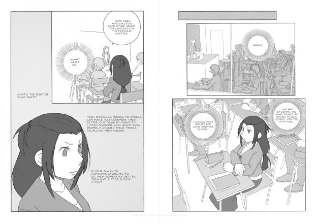 Chapter 5, pages 9 and 10 of the webcomic