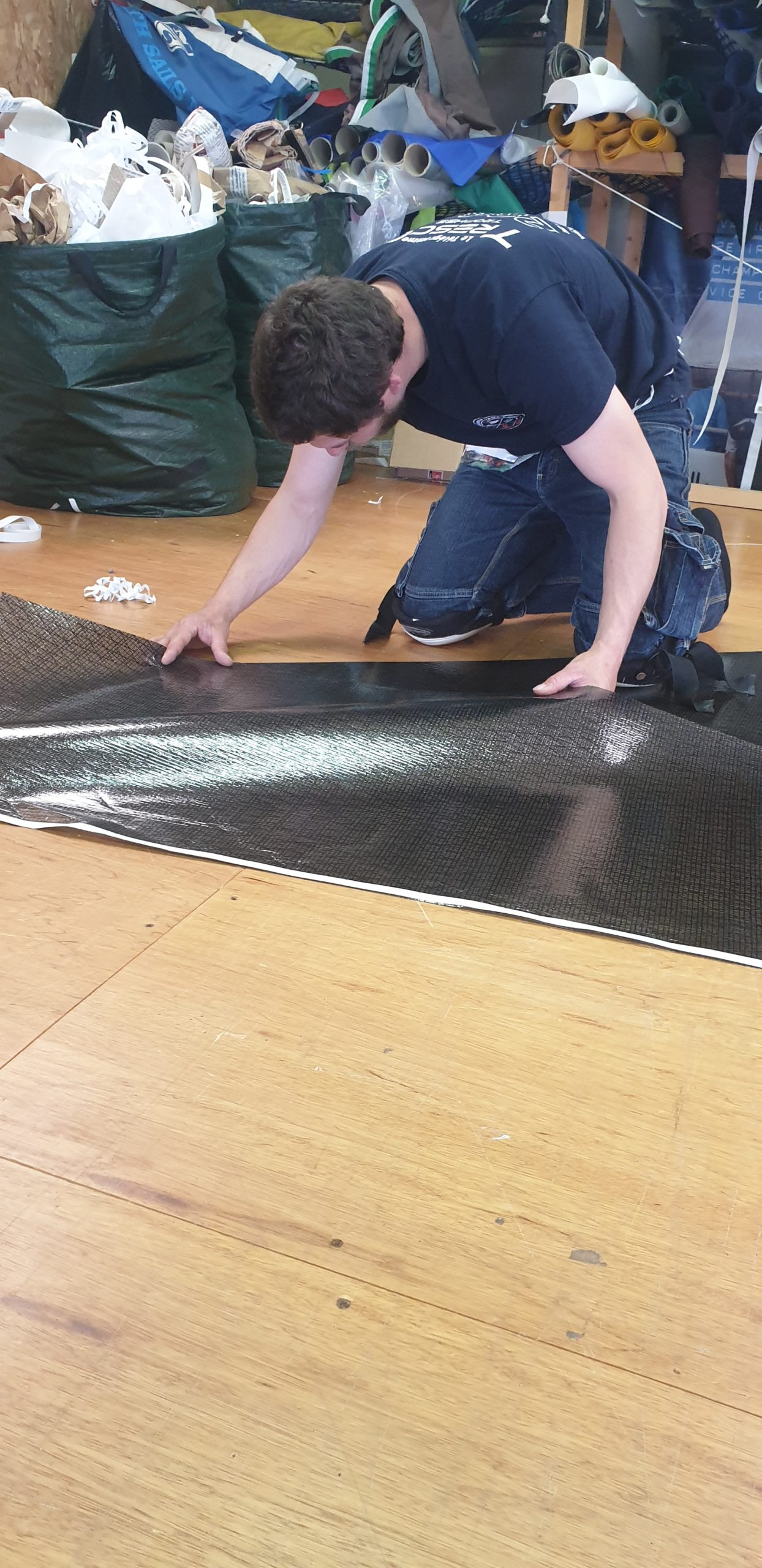 Fabrication d'un génois médium racing en PX BLACK