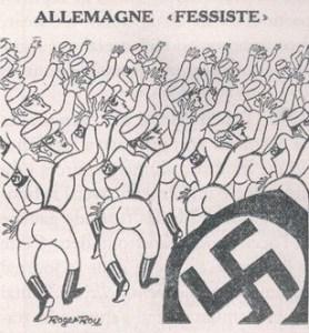 Coups de griffe prises de bec Allemagne fessiste 278x300 - « Je pense que lorsqu'une satire est réellement bonne, elle va faire mal et marquer les esprits. » (Tignous)