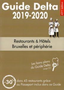 Guide Delta Bruxelles 2019 cover 215x300 - « Bonne cuisine et bon vin, c'est le paradis sur terre ! » (Henri IV)