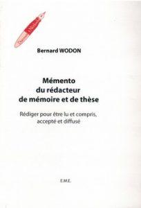 Mémento du rédacteur de mémoire et de thèse 204x300 - Les Bescherelle de l'étudiant et du doctorand…