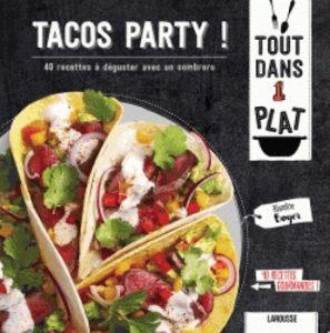 Tacos party – 40 recettes à déguster avec un sombrero 297x300 - Street-food à la mexicaine…