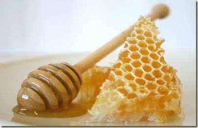 honey for the hair