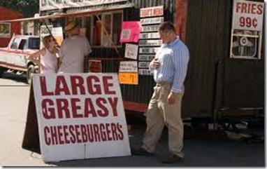 largel greasy