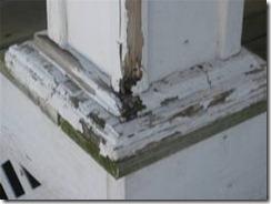 rotting porchh columns