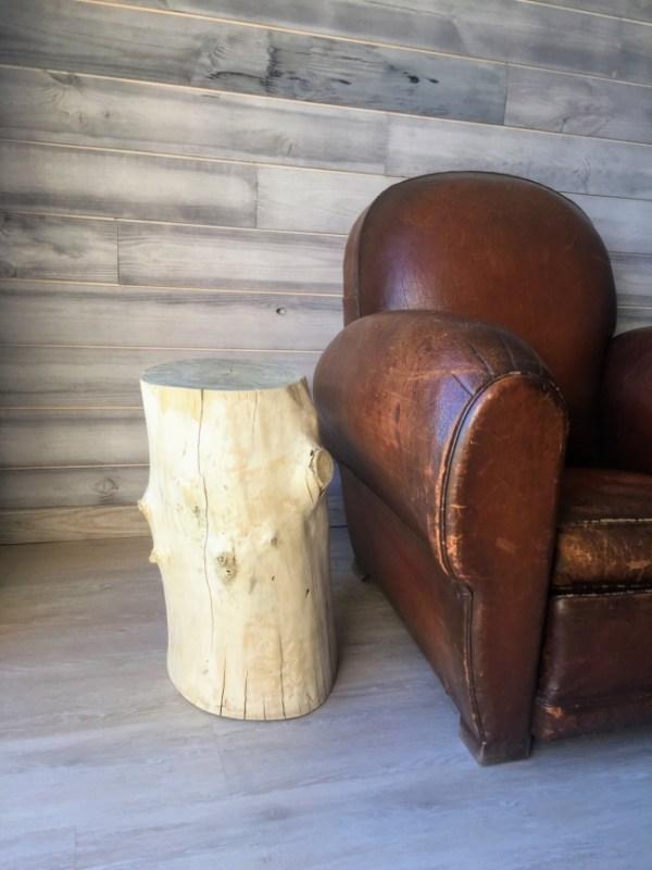 Bois flotté. Bout de canapé ou table d'appoint en bois flotté by Deluxe Créations