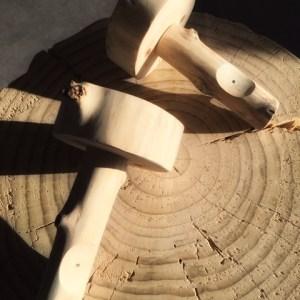 Support pour tringle entièrement réalisés en bois flotté. Fabrication artisanale Française By Deluxe Créations