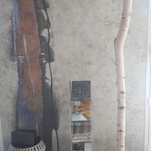 Tronc de bouleau décoratif, tronc de bouleau sur socle, créations artisanale Française by Deluxe Créations