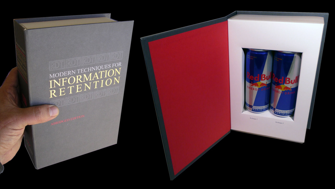 redbull red bull fake book ruby detoro college activation experiential