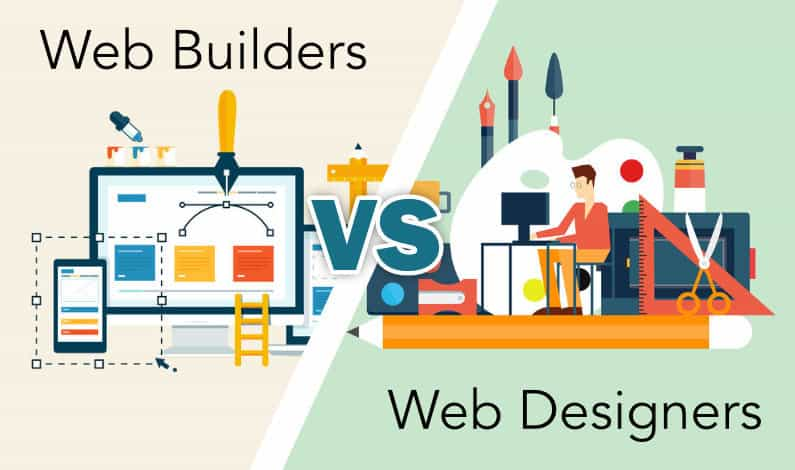 Web Builder vs Web Designer – How to Choose