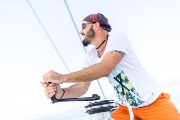23.04.-30.04.2017 Katamaran Skippertraining Palma de Mallorca