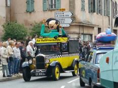La voiture de Gaston Lagaffe...