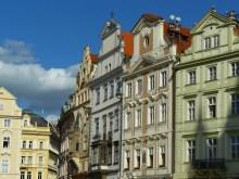 Dans le coeur historique de Prague.