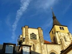 Dans la vieille ville de Prague