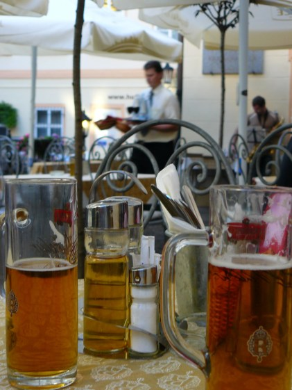 La bière fait presque office de boisson nationale.
