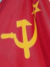 Le drapeau communiste.